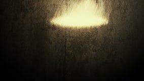Υπόβαθρο Grunge με την έκρηξη των μορίων απόθεμα βίντεο