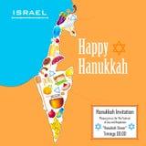 Υπόβαθρο Hanukkah Στοκ φωτογραφίες με δικαίωμα ελεύθερης χρήσης