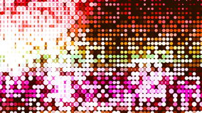 Υπόβαθρο HD Loopable με τα συμπαθητικά ζωηρόχρωμα leds ελεύθερη απεικόνιση δικαιώματος