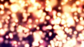 Υπόβαθρο HD Loopable με τη συμπαθητική περίληψη fireflies απόθεμα βίντεο