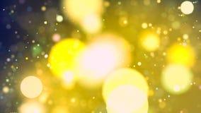 Υπόβαθρο HD Loopable με το συμπαθητικό ζωηρόχρωμο bokeh απόθεμα βίντεο