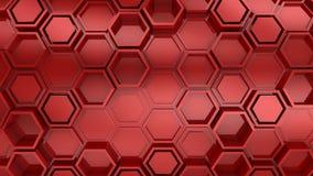Υπόβαθρο hexagons απεικόνιση αποθεμάτων