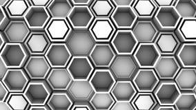 Υπόβαθρο hexagons διανυσματική απεικόνιση