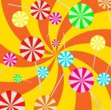 Υπόβαθρο lollipop Στοκ Φωτογραφία