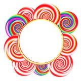 Υπόβαθρο Lollipops Στοκ εικόνα με δικαίωμα ελεύθερης χρήσης