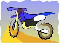 Υπόβαθρο Motorcucle διανυσματική απεικόνιση