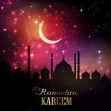 Υπόβαθρο 1605 Ramadan Στοκ Φωτογραφία