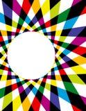 Υπόβαθρο Spirograph ουράνιων τόξων Στοκ Εικόνα