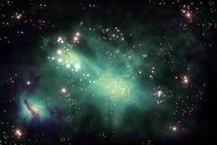 Υπόβαθρο Starscape κόσμου απεικόνιση αποθεμάτων