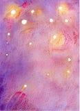 Υπόβαθρο watercolor φαντασίας Στοκ φωτογραφία με δικαίωμα ελεύθερης χρήσης