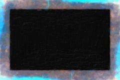 Υπόβαθρο watercolor Grunge με το βαθύ σχέδιο Στοκ Εικόνες