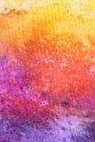 Υπόβαθρο Watercolour ουράνιων τόξων απεικόνιση αποθεμάτων
