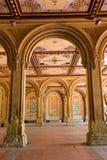 Υπόγεια διάβαση πεζουλιών του Central Park Bethesda arcades Στοκ Εικόνες