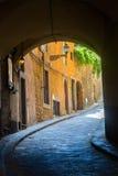 Υπόγεια διάβαση στη Φλωρεντία, Τοσκάνη, Ιταλία Στοκ Εικόνα