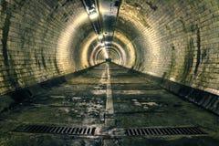 Υπόγεια διάβαση του Γκρήνουιτς Στοκ Φωτογραφία
