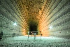 Υπόγεια ορυχεία Ουκρανία, Ntone'tsk Στοκ Εικόνες