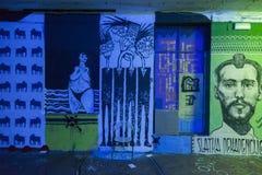 Υπόγεια τέχνη Στοκ εικόνες με δικαίωμα ελεύθερης χρήσης