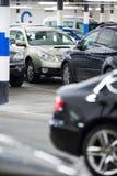 Υπόγειοι χώρος στάθμευσης/γκαράζ Στοκ Φωτογραφίες