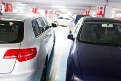 Υπόγειοι χώρος στάθμευσης/γκαράζ Στοκ Εικόνες