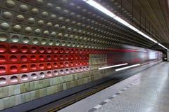 υπόγειος άφιξης Στοκ Φωτογραφίες