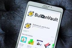 Υπόγειος θάλαμος app ράβδου Στοκ φωτογραφία με δικαίωμα ελεύθερης χρήσης