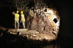 υπόγειος κατασκευής Στοκ φωτογραφίες με δικαίωμα ελεύθερης χρήσης