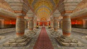 Υπόγειος ναός Στοκ εικόνες με δικαίωμα ελεύθερης χρήσης