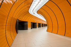 Υπόγειος σταθμός Marienplatz στο Μόναχο, Γερμανία Στοκ φωτογραφία με δικαίωμα ελεύθερης χρήσης