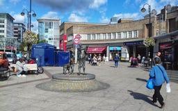 Υπόγειος σταθμός Uxbridge στοκ εικόνες με δικαίωμα ελεύθερης χρήσης