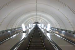 υπόγειος σταθμών της Μόσχας Στοκ φωτογραφία με δικαίωμα ελεύθερης χρήσης
