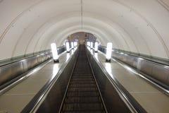υπόγειος σταθμών της Μόσχας Στοκ Φωτογραφία