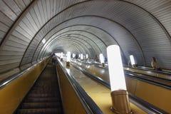 υπόγειος σταθμών της Μόσχας Στοκ φωτογραφίες με δικαίωμα ελεύθερης χρήσης