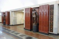 υπόγειος σταθμών της Μόσχας Στοκ Εικόνες