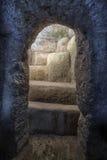Υπόγειος τάφος περιοχών Tierradentro archeological Στοκ φωτογραφία με δικαίωμα ελεύθερης χρήσης