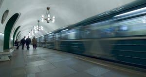 υπόγειος της Μόσχας Στοκ Εικόνες