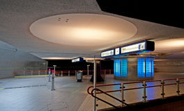 υπόγειος του Ρότερνταμ Στοκ Εικόνες