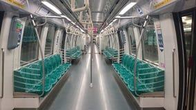 Υπόγειο τρένο της Σιγκαπούρης Στοκ φωτογραφίες με δικαίωμα ελεύθερης χρήσης