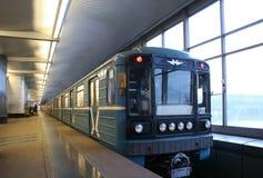 υπόγειο τρένο Στοκ φωτογραφία με δικαίωμα ελεύθερης χρήσης