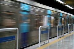 υπόγειο τρένο στοκ εικόνα