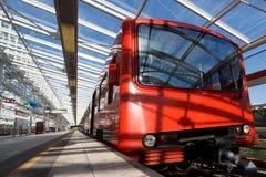 Υπόγειο τρένο Στοκ Φωτογραφία