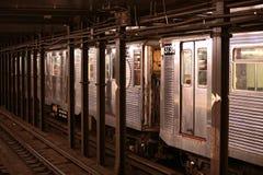 Υπόγειο τρένο Στοκ Φωτογραφίες
