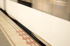 Υπόγειο τραίνο Στοκ φωτογραφίες με δικαίωμα ελεύθερης χρήσης