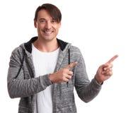 υπόδειξη ατόμων δάχτυλων Απομονωμένος στο λευκό Στοκ Εικόνες