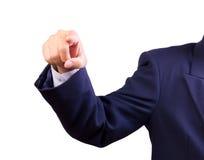 υπόδειξη χεριών δάχτυλων Στοκ εικόνα με δικαίωμα ελεύθερης χρήσης
