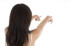 υπόδειξη χεριών κοριτσιών &c στοκ φωτογραφίες με δικαίωμα ελεύθερης χρήσης