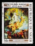 Υπόθεση, έργα ζωγραφικής Rubens serie, circa 1978 Στοκ εικόνες με δικαίωμα ελεύθερης χρήσης