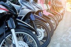Υπόλοιπος κόσμος πολλής μοτοσικλέτας στοκ φωτογραφία με δικαίωμα ελεύθερης χρήσης