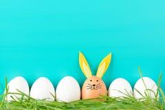 Υπόλοιπος κόσμος των αυγών Πάσχας με τα στολισμούς στοκ φωτογραφία με δικαίωμα ελεύθερης χρήσης