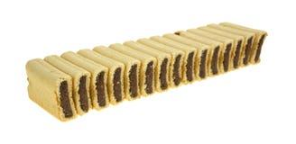 Υπόλοιπος κόσμος των μπισκότων πλήρωσης σύκων Στοκ Φωτογραφία