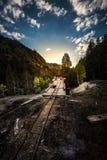 Υπόλοιπο του παλαιού μονάρχη Κολοράντο ΗΠΑ Μ ΑΜ περιοχής Ouray ορυχείου Στοκ εικόνα με δικαίωμα ελεύθερης χρήσης